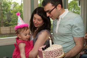 Dalia's first birthday