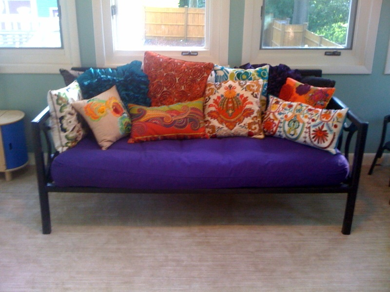 Our New Nontoxic Daybed And Wool Carpet