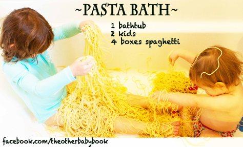 pasta bath meme